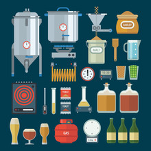 Home Brewing Factory Productio...