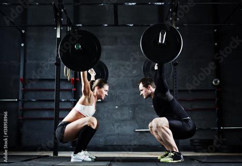 motywacyjne-ujecie-ciezkiego-treningu-pary