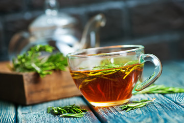 Fototapeta rosemary tea