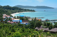 View Of Koh Rong, Tropical Isl...