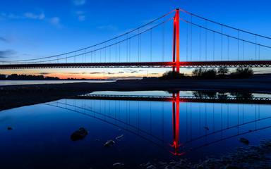Fototapeta na wymiar Rheinbrücke Emmerich