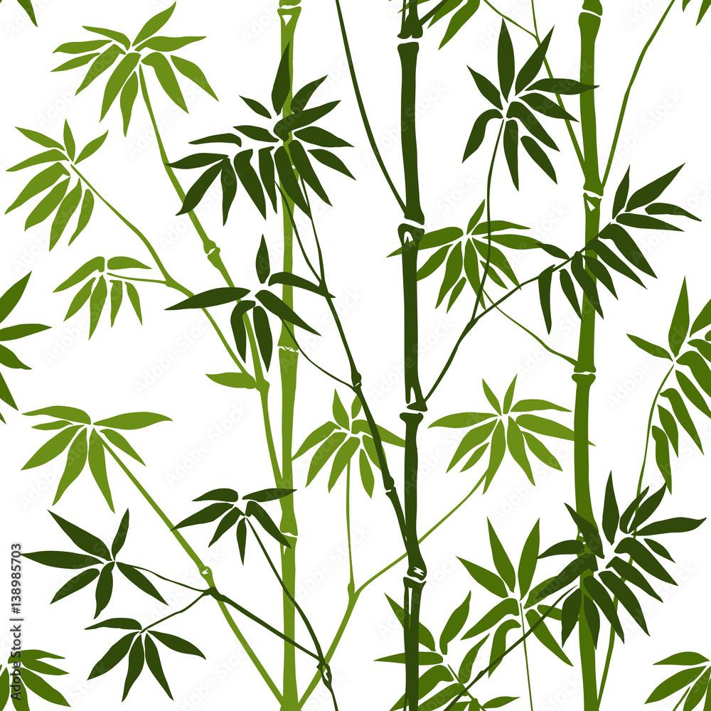 Bambusowy wzór <span>plik: #138985703 | autor: kronalux</span>
