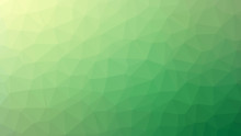Green Abstract Low Poly Style ...