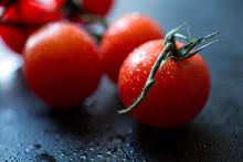 Fresh Tomatoes, Close-up