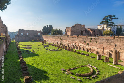Fototapeta  Rome, Italy. Stadium in the palace of Domitian, 80 - 92 years.