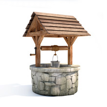Water Well 3d Illustration