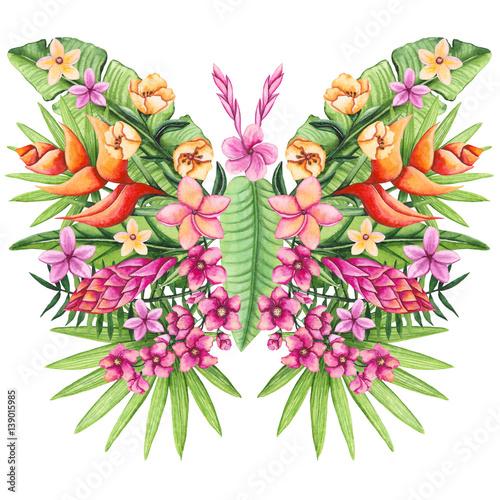 motyl-z-pieknych-kolorowych-kwiatow