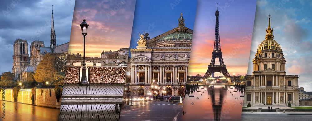 Fototapety, obrazy: Ville de Paris France
