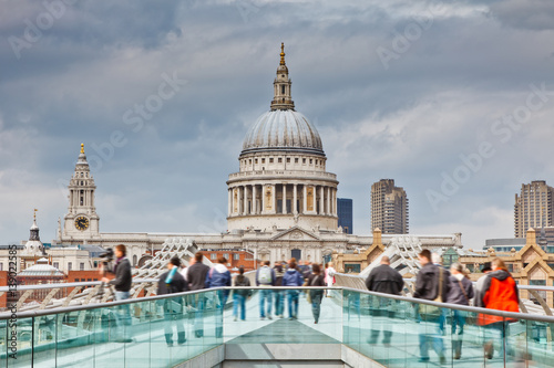 St Paul's Cathedral in London Canvas Print