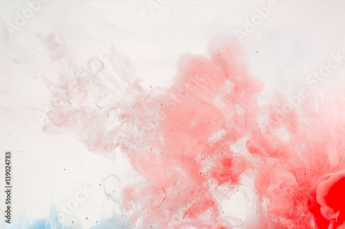 abstract paint in water background buy this stock photo and