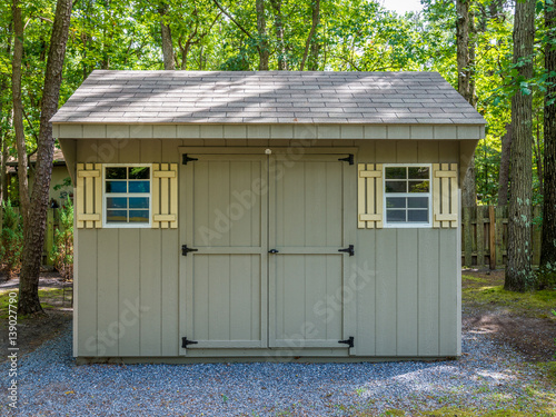 Fotomural Stock photo of the shed