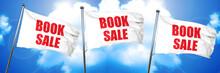 Book Sale, 3D Rendering, Triple Flags