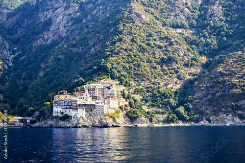 Fotografie, Obraz  Gregoriou monastery, Mount Athos