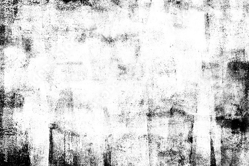 Plakat Oryginalna monochromatyczna abstrakcja
