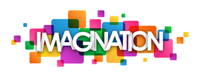 FototapetaIMAGINATION Colourful Vector Letters Banner