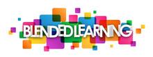 BLENDED LEARNING Colourful Vec...