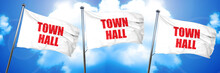 Town Hall, 3D Rendering, Tripl...