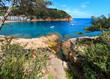 Tamariu bay, Costa Brava, Spain.