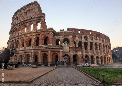Poster Rome Rome, Coliseum, morning