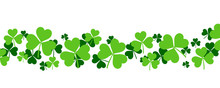 Shamrock Background - St Patri...