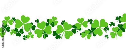 Shamrock Background - St Patrick's Day