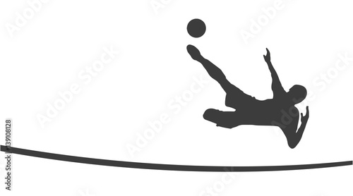 Fussballspieler Silhouette Buy This Stock Vector And