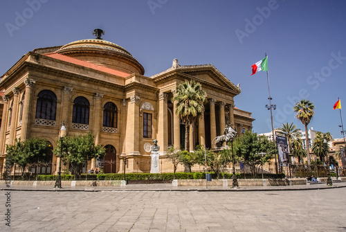 Palermo Opera House - Buy this stock photo and explore similar ...