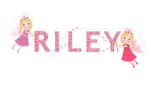 Riley Female Name With Cute Fa...