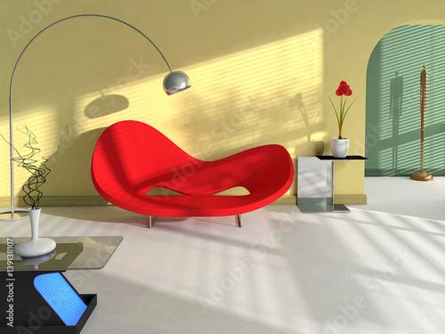 Intérieur maison décoration salon et séjour – kaufen Sie ...