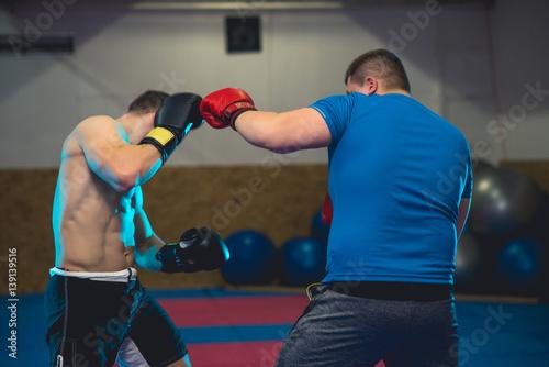 Fototapeta Mixed Martial Arts sparring