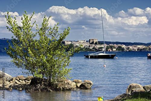 Obraz na plátne Lake Bolsena 3