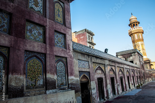 Wazir khan Mosque a model of the mughal's dynasty