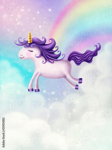 Cute little unicorn