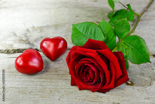 Muttertag Liebe Valentinstag Herz Rose Buy This Stock Photo And