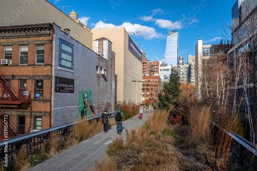 High Line Park - New York, USA Canvas Print