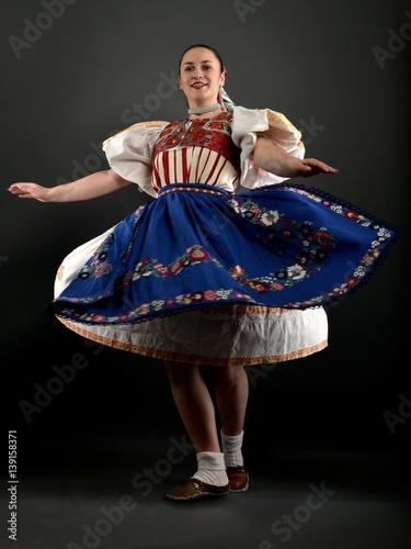 Papiers peints Carnaval danseur folklore slovaque