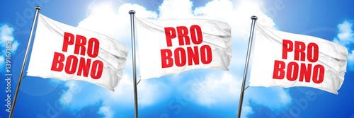 Papel de parede  pro bono, 3D rendering, triple flags