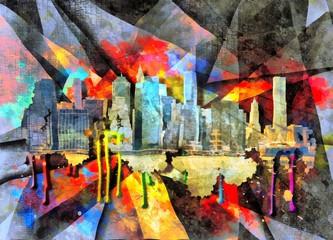 Obraz Cityscape