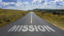 Mission On Asphalt Road