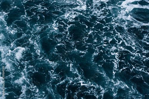 Foto auf Gartenposter Wasser sea wave pattern. abstract background