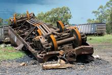 Frere Coal Train Derailment.