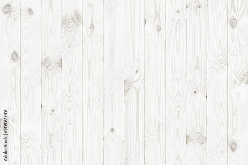 Charmant White Wood Texture Background, Wooden Table Top View