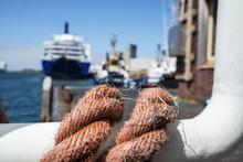 Closeup Ship's Rope Texture