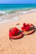 Holidays at the Caribbean beach of Mexico