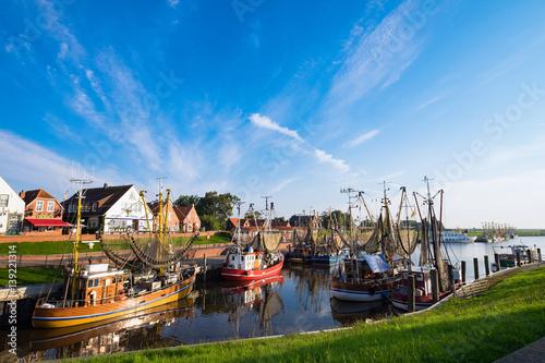 Canvas Prints Port Hafen von Greetsiel