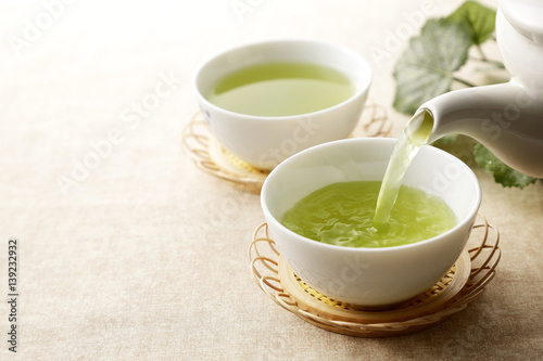 Fotografia 緑茶 Japanese green tea