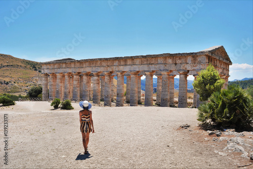 Fotografie, Obraz  Segesta Sicilia