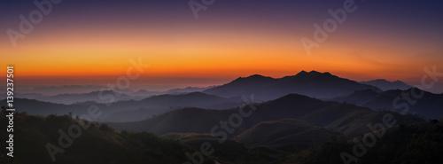 Landscape morning sunrise #139237501