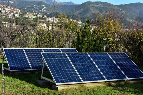 Pannelli solari usati nell'agricoltura