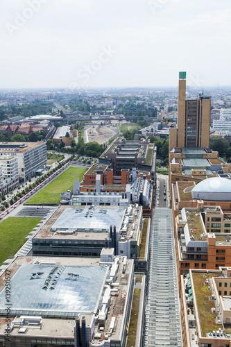 Fotografie, Obraz  Potsdamer Platz From Above